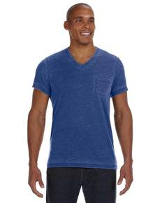 Alternative 42196BB Men's Leo V-Neck T-Shirt