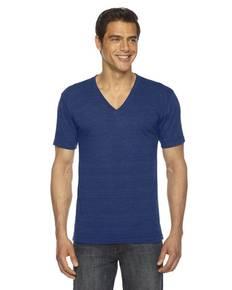 American Apparel TR461 Unisex Triblend Short-Sleeve V-Neck T-Shirt