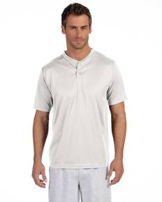 Augusta Sportswear 426 Adult Wicking Two-Button Jersey