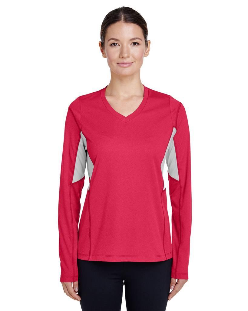 Team 365 Men/'s Polyester Moisture Wicking Long Sleeve Athletic Fit T-Shirt TT14