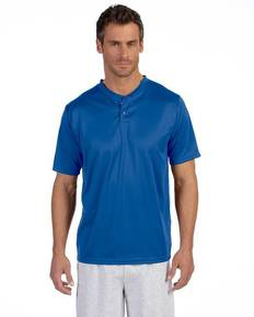 Augusta Sportswear 426 Adult Wicking Two-Button Jersey
