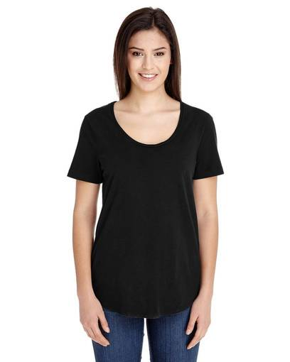 american apparel rsa6320 ladies' ultra wash t-shirt front image