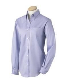 van-heusen-13v0110-ladies-39-wrinkle-resistant-blended-pinpoint-oxford