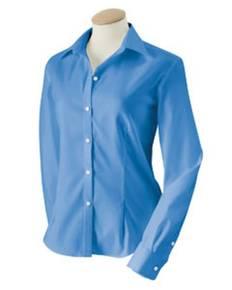 Van Heusen 13V0144 Ladies' True Wrinkle-Free Cotton Pinpoint Oxford