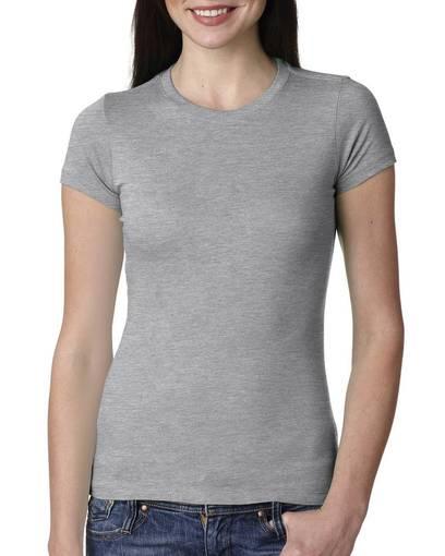 next level 3300l ladies' perfect t-shirt Front Fullsize