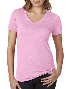 Next Level 6044 Ladies' Poly/Cotton V