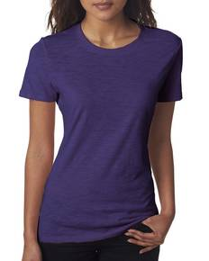 Next Level 6810 Ladies' Slub Crew Tee