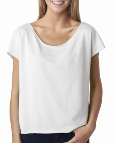 Next Level 6960 Ladies' Terry Dolman Tee