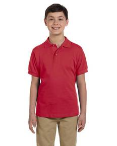 Jerzees 440Y Youth 6.5 oz. Ringspun Cotton Piqué Polo