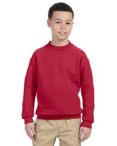 Jerzees 4662B Youth 9.5 oz., Super Sweats® NuBlend® Fleece Crew