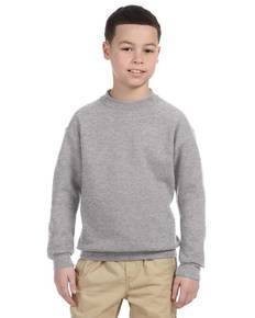 Jerzees 4662B Youth 9.5 oz., 50/50 Super Sweats® NuBlend® Fleece Crew
