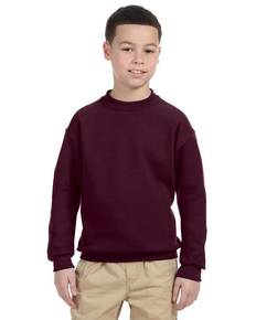 Jerzees 4662B Youth 9.5 oz., Super Sweats® NuBlend® Fleece Crew