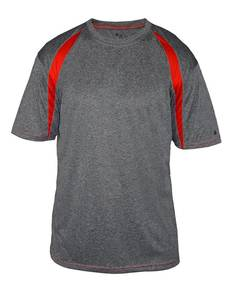 Badger B4340 Adult Fusion Short-Sleeve Tee