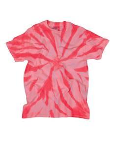 Dyenomite 200NTT Adult Neon 1-Color Pinwheel Tee
