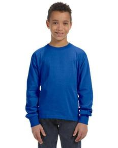 Fruit of the Loom 4930B Youth 5 oz. HD Cotton™ Long-Sleeve T-Shirt