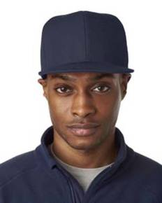 UltraClub 8160 Adult Flat Bill Cap