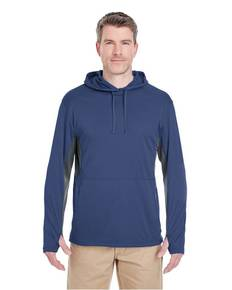 UltraClub 8231 Adult Cool & Dry SportHooded Pullover