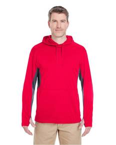 UltraClub 8231 Adult Cool & Dry Sport Hooded Pullover