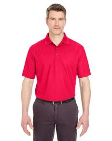 UltraClub 8240 Men's Cool & Dry Pebble-Knit Polo