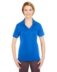 UltraClub 8320L Ladies' Platinum Performance Jacquard Polo with TempControl Technology