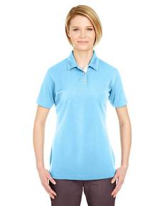 UltraClub 8325L Ladies' Platinum Performance Birdseye Polo with TempControl Technology