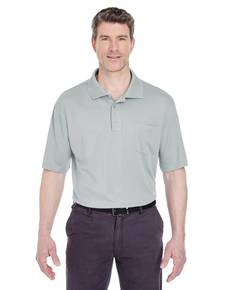 UltraClub 8405P Adult Cool & Dry Sport Polo withPocket