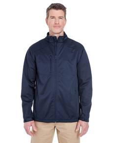 UltraClub 8477 Men's Solid Soft Shell Jacket