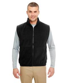 UltraClub 8486 Adult Iceberg Fleece Full-Zip Vest