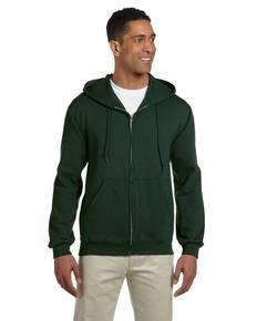 Jerzees 4999 Adult 9.5 oz., Super Sweats® NuBlend® Fleece Full-Zip Hood