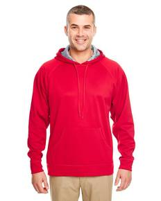 UltraClub 8441 Adult Cool & Dry Sport Hooded Fleece