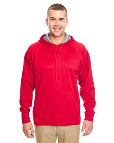 UltraClub 8441 Adult Cool & Dry SportHooded Fleece