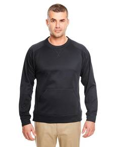 UltraClub 8443 Adult Cool & Dry Sport Crew Neck Fleece