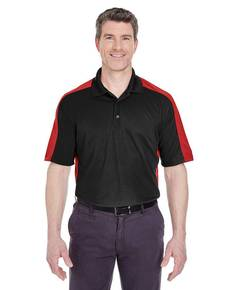 UltraClub 8447 Adult Cool & Dry Stain-Release 2-Tone Performance Polo
