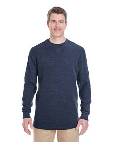 UltraClub 8455 Adult Mini Thermal Crewneck