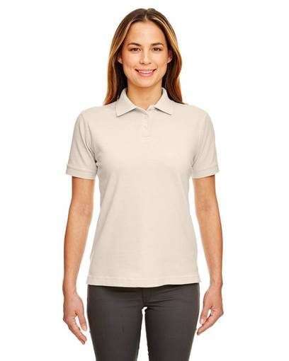 ultraclub 8530 ladies' classic piqué polo front image