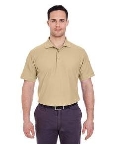 UltraClub 8560 Men's Basic Blended Piqué Polo