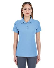 UltraClub 8560L Ladies' Basic Blended Piqué Polo