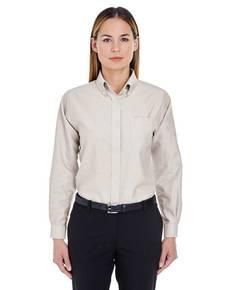 UltraClub 8990 Ladies' Classic Wrinkle-Resistant Long-Sleeve Oxford