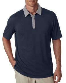 adidas Golf A192 Men's Short-Sleeve Two-Tone Polo