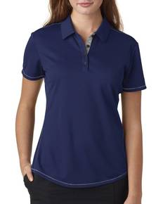 adidas Golf A222 Ladies' climacool Mesh Color Hit Polo
