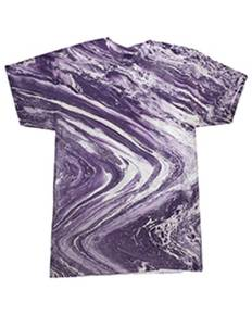Tie-Dye CD1111 Adult 100% Cotton Marble T-Shirt