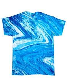 Tie-Dye CD1111Y Youth 100% Cotton Marble T-Shirt