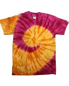 Tie-Dye CD1180B Youth Island Collection Tie-Dyed Tee