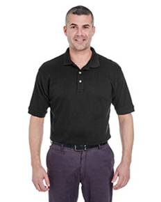 UltraClub U8505 Men's Egyptian Interlock Polo