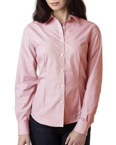 van-heusen-v0421-ladies-39-long-sleeve-non-iron-feather-stripe