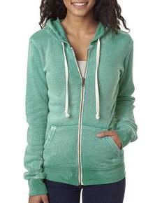 Weatherproof W2350 Ladies' Angel Sanded Hooded Fleece