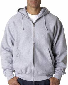 Weatherproof WP7711 Adult Cross Weave® Full-Zip Hooded Sweatshirt