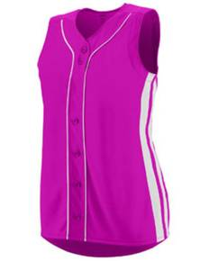 Augusta Drop Ship 1668 Ladies' Sleeveless Winner Jersey