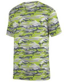 Augusta Sportswear 1805 Adult Mod Camo Wicking Short-Sleeve T-Shirt