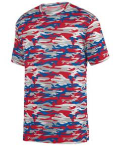 Augusta Sportswear 1805 Adult Mod Camo Wicking Short-Sleeve T-Shirt